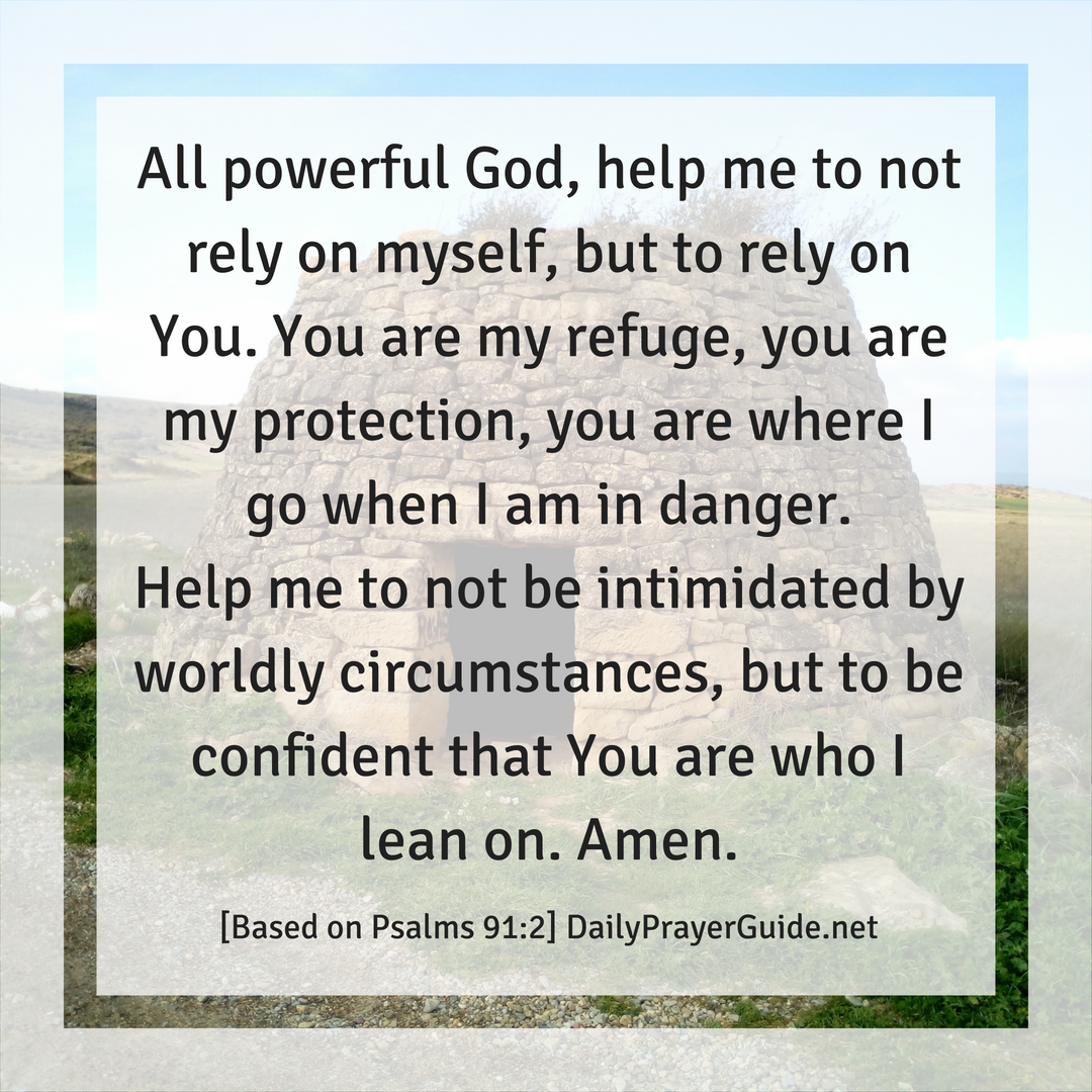 You are My Refuge [Psalms 91:2] - Daily Prayer Guide