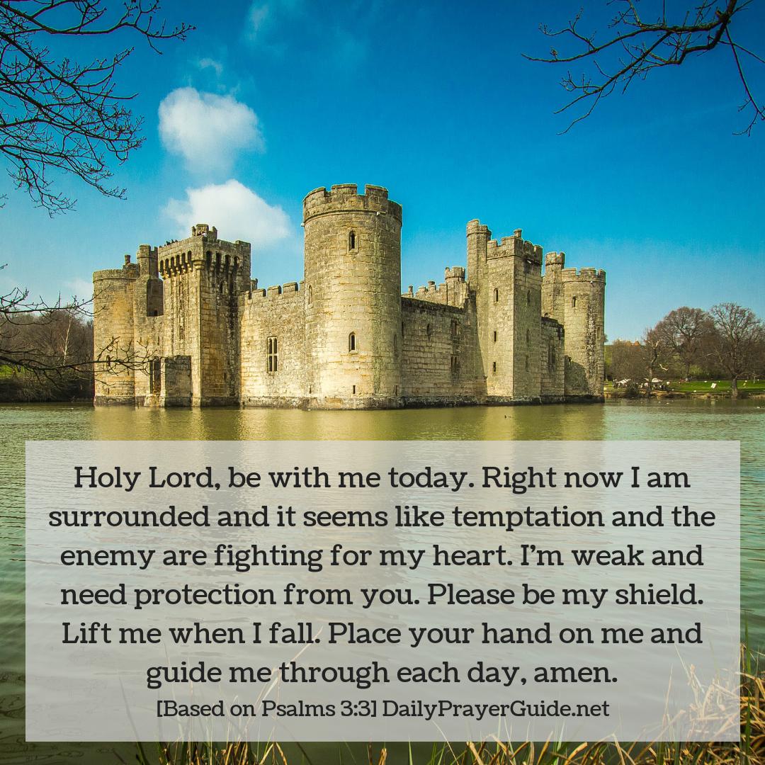 God is my Shield [Psalms 3:3] - Daily Prayer Guide