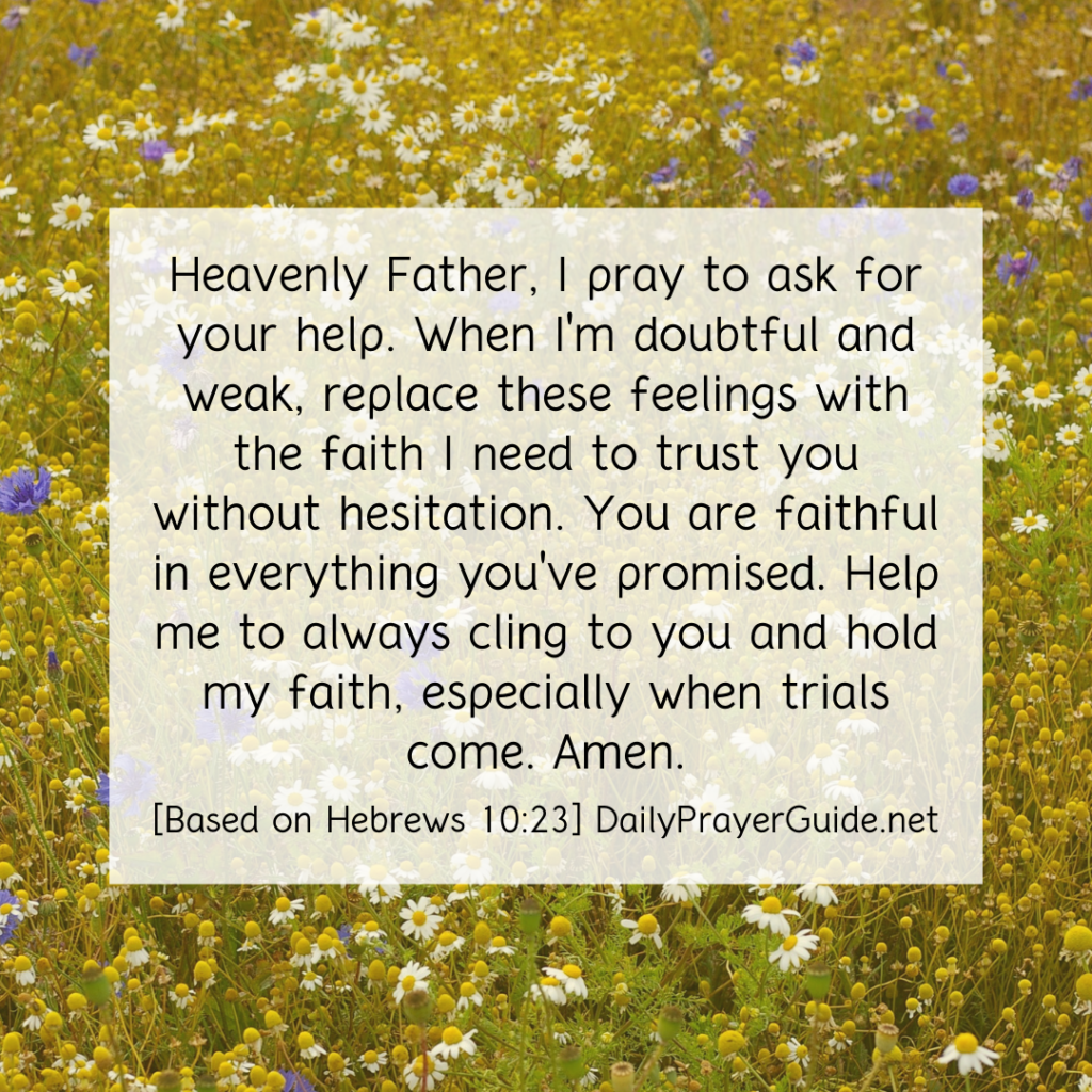 Daily Prayer Guide - Page 2 of 52 - Strengthen Your